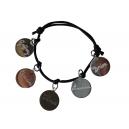 Bracelet 5 médailles