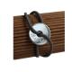 Bracelet cible argent